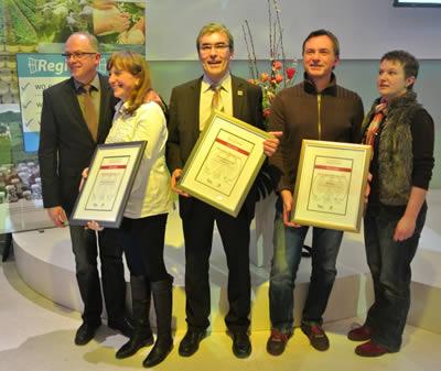 Bester Regent-Erzeuger 2012