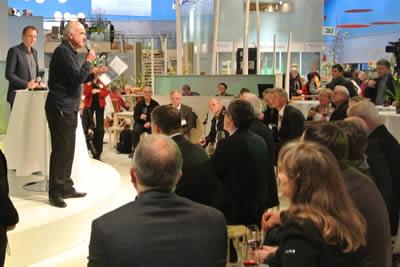 Bester Regent Erzeuger 2012, Moderation