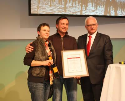 Bester Regenterzeuger 2012, Erzeugerbetriebe, Wartwein